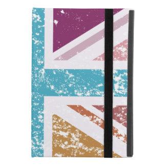 Capa Para iPad Mini 4 Bandeira de união afligida colorido