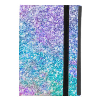 Capa Para iPad Mini 4 Brilho & Sparkles do falso das cores Pastel