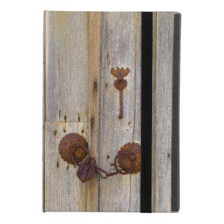 Capa Para iPad Mini 4 Cadeado velho do ferro do vintage oxidado em uma