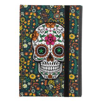 Capa Para iPad Mini 4 Crânio floral retro colorido do açúcar