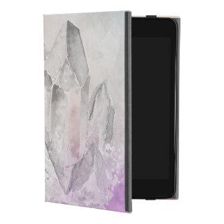 Capa Para iPad Mini 4 Energia Amethyst Chakra da cura de cristal do