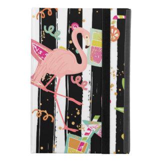 Capa Para iPad Mini 4 Flamingo tropical do divertimento do partido