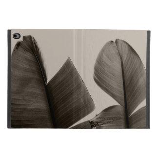 Capa Para iPad Mini 4 Folhas da árvore de banana no Sepia