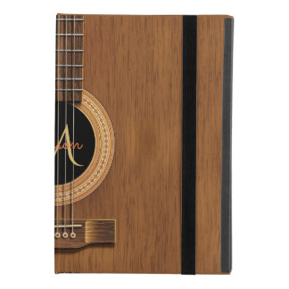 Capa Para iPad Mini 4 Guitarra acústica de madeira morna