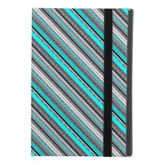 Capa Para iPad Mini 4 Padrões cinzentos bonitos do asteca do aqua