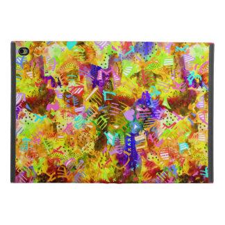 Capa Para iPad Mini 4 Pintura abstrata colorida bonito