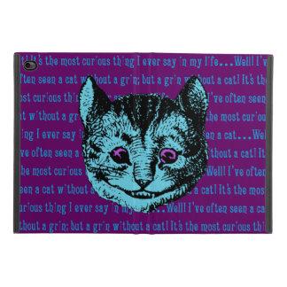 Capa Para iPad Mini 4 Vintage Alice no gato de Cheshire do país das