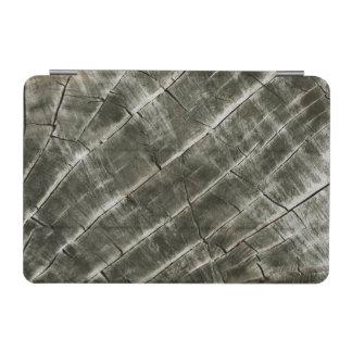 Capa Para iPad Mini A terra tonificou a textura de madeira