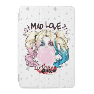 Capa Para iPad Mini Amor louco Harley Quinn de Batman | que mastiga a