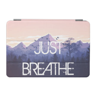 Capa Para iPad Mini Apenas respire o design da montanha