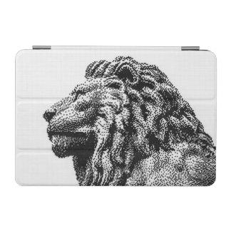 Capa Para iPad Mini Arte desenhado mão do pixel do estilo real do leão