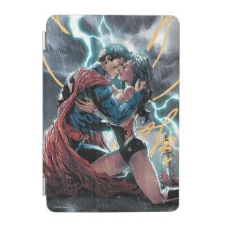 Capa Para iPad Mini Arte relativa à promoção cómica do superman/mulher