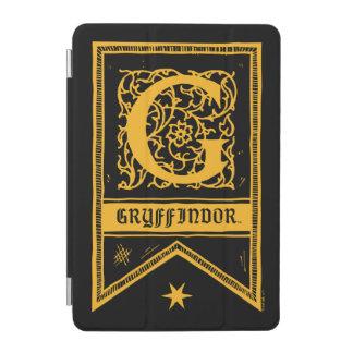 Capa Para iPad Mini Bandeira do monograma de Harry Potter | Gryffindor