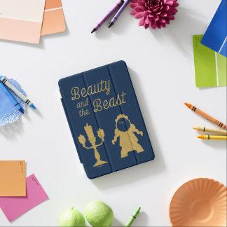 Capa Para iPad Mini Belle | Lumiere e Cogsworth