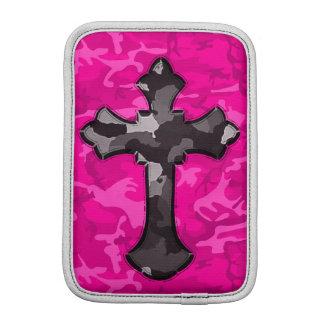 Capa Para iPad Mini Camo cor-de-rosa com cruz