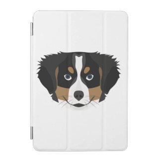 Capa Para iPad Mini Cão de montanha de Bernese da ilustração