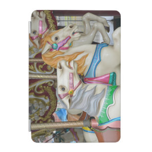 03ab9af9cb8 Capa Para iPad Mini Cavalos coloridos do carrossel