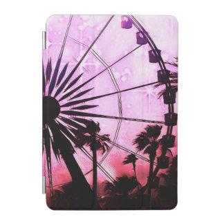 Capa Para iPad Mini Cobrir esperto do iPad (cor-de-rosa) da roda de