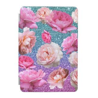 Capa Para iPad Mini Cobrir esperto do iPad floral do brilho do brilho