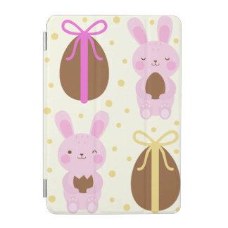 Capa Para iPad Mini Coelhinhos da Páscoa bonitos e teste padrão dos