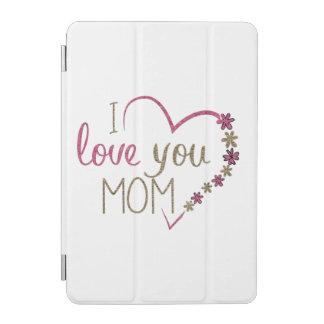 Capa Para iPad Mini Coração do dia das mães da mamã do amor