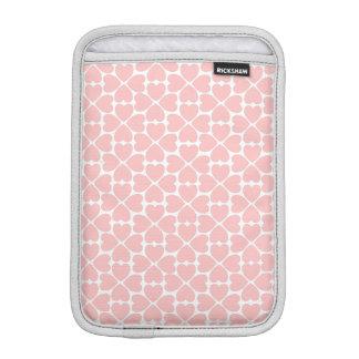 Capa Para iPad Mini Corações do trevo da folha do rosa quatro