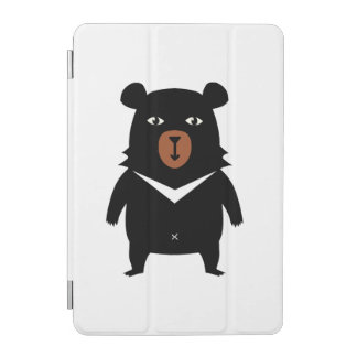 Capa Para iPad Mini Desenhos animados do urso preto