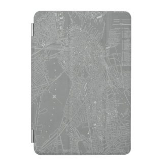 Capa Para iPad Mini Esboço do mapa da cidade de Boston