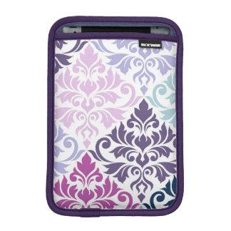 Capa Para iPad Mini Floresça a arte do damasco (v) mim peso dos azuis