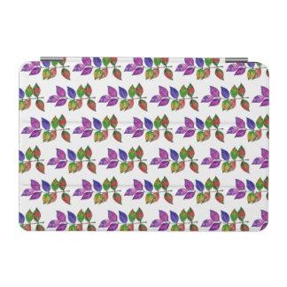 Capa Para iPad Mini Folhas do arco-íris da aguarela