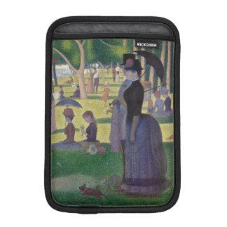 Capa Para iPad Mini GEORGE SEURAT - Um 1884 um domingo à tarde