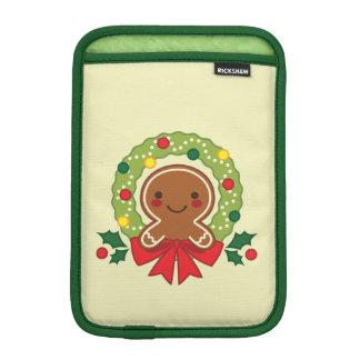 Capa Para iPad Mini Homem de pão-de-espécie com ilustração da grinalda
