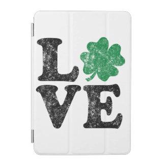 Capa Para iPad Mini Irlandês do trevo do AMOR do Dia de São Patrício