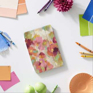 Capa Para iPad Mini Jardim coral e esmeralda