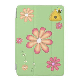 Capa Para iPad Mini Jardim do primavera com abelhas e flores