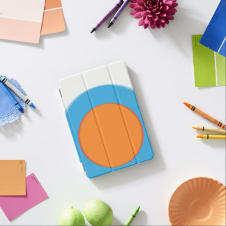 Capa Para iPad Mini Laranja no ponto azul