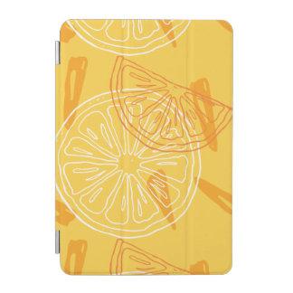 Capa Para iPad Mini Limões amarelos brilhantes teste padrão tirado do