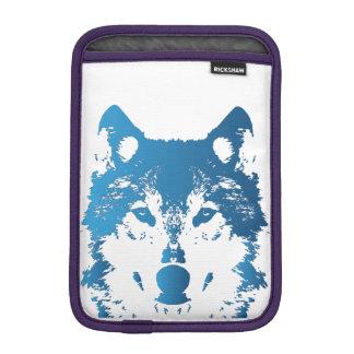 Capa Para iPad Mini Lobo do azul de gelo da ilustração