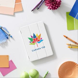 Capa Para iPad Mini Logotipo do oficial de Canadá 150 - multicolorido