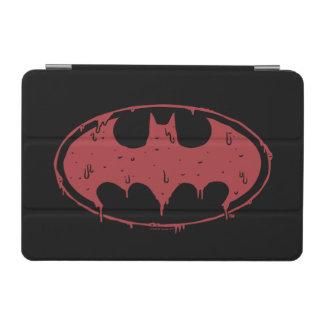 Capa Para iPad Mini Logotipo Oozing do bastão vermelho de Batman |