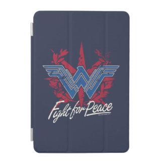 Capa Para iPad Mini Luta da mulher maravilha para o símbolo de paz