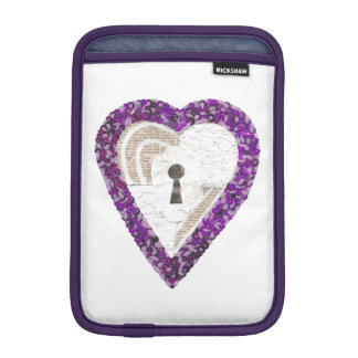 Capa Para iPad Mini Luva da Eu-Almofada do coração do cacifo mini