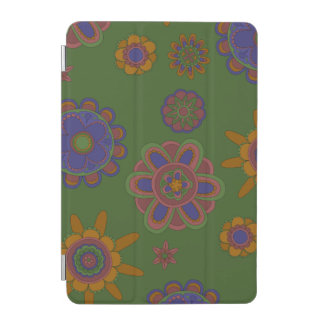 Capa Para iPad Mini Malva & flores do ouro