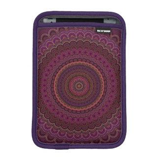 Capa Para iPad Mini Mandala roxa escura