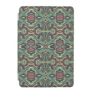 Capa Para iPad Mini Mão colorida abstrata design encaracolado tirado