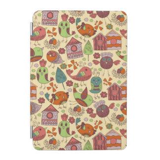 Capa Para iPad Mini Mão colorida abstrata design floral tirado do