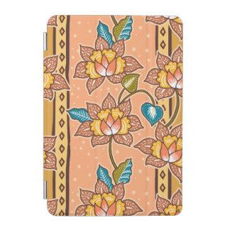 Capa Para iPad Mini Mão dourada teste padrão floral decorativo tirado