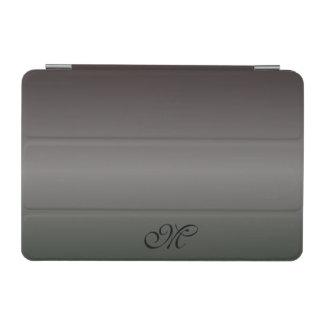 Capa Para iPad Mini Máscaras do monograma preto