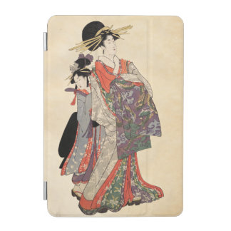 Capa Para iPad Mini Mulher no quimono colorido (impressão do japonês