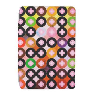 Capa Para iPad Mini Multi círculos coloridos legal & trevos
